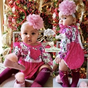 Other - 6-9 mth... Cute long sleeve heart romper
